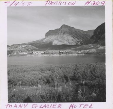 Many Glacier Hotel, Grinnel Glacier, Montana
