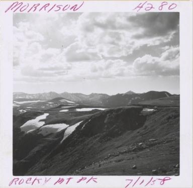 Unknown glacier, Sundance Mountain, Colorado