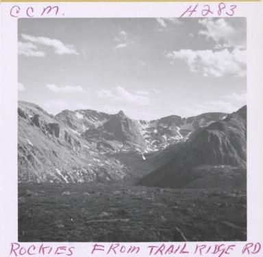 Unknown glacier, Rocky Mountain National Park, Colorado