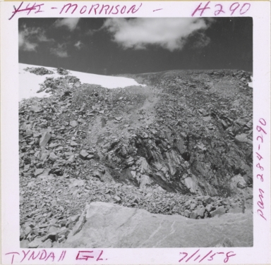 Tyndall Glacier, Colorado