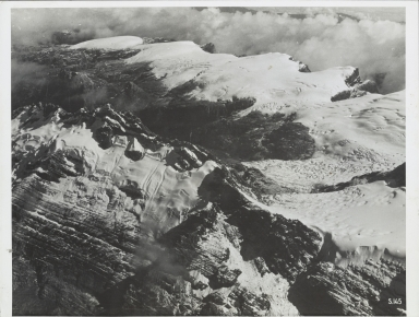 Southwall Hanging Glaciers, Carstensz Glacier, and Meren Glacier, Indonesia