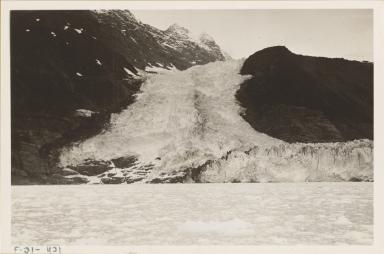 Cascade Glacier, Alaska