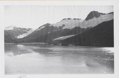 Unknown glacier, near Ripon Glacier, Alaska