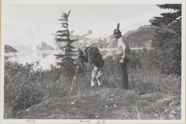 Site of Station D near Northland Glacier, Alaska