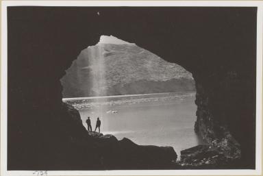 Cave in Blackstone Bay, Blackstone Glacier, Alaska
