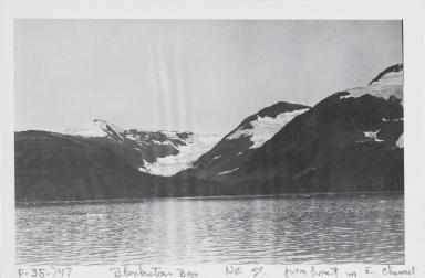 Unknown glacier, Blackstone Bay, Alaska