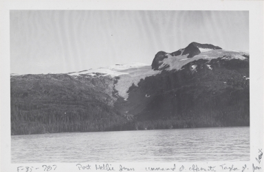 Unknown glacier, Kings Bay, Alaska