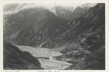 Brown Glacier, Alaska