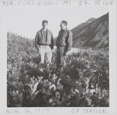 Site of Station Osier Russell, near Hubbard Glacier, Alaska