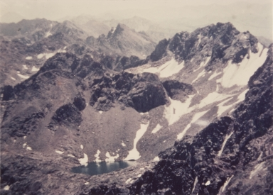 Unknown glacier, Gorge Range, Colorado