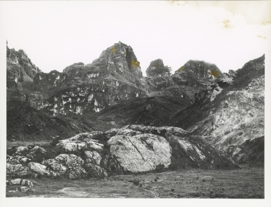 Northwall Firn from Lake Larson, Indonesia