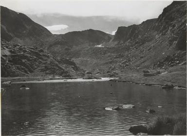 Unknown glacier at head of Hague Creek, Colorado