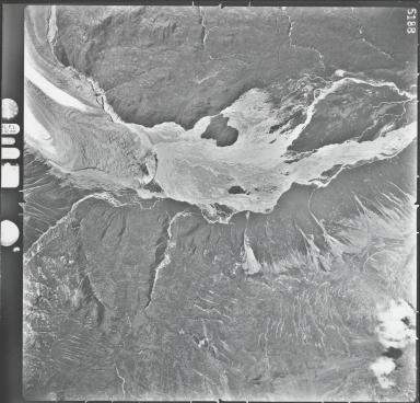 Trimble Glacier, aerial photograph M224 5188, Alaska