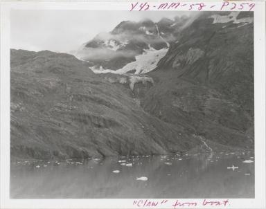 Unnamed glacier, Johns Hopkins Inlet, Alaska