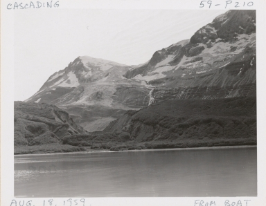 Cascading Glacier, Alaska