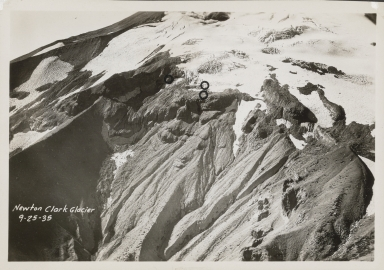 Newton Clark Glacier, Oregon