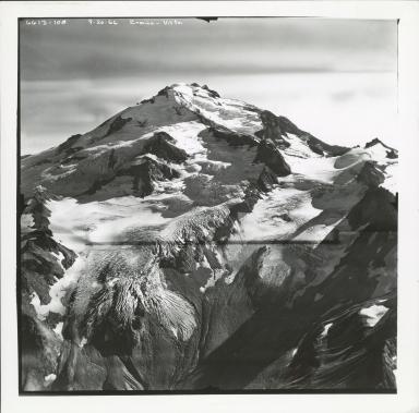 Ermine Glacier and Vista Glacier, Washington