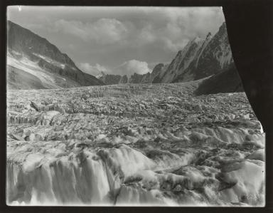 Glacier d'Argentiere, France