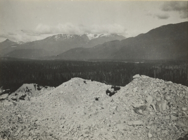 "Unknown glacier (""Dirt Glacier""), British Columbia"