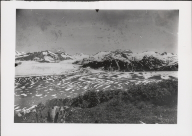 Unknown glacier, Alsek River, Saint Elias Mountains, Alaska