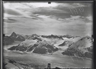 Baird Glacier from Angle station, Alaska