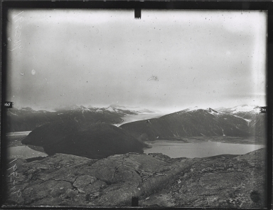Taku Inlet from station Last Mountain, Alaska