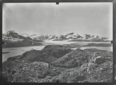 Unknown glacier, Glacier Bay, Alaska