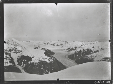 Unknown glacier, Endicott Arm, Alaska