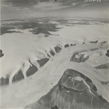 Kalstenius Ice Field, Ellesmere Island, Nunavut, Canada