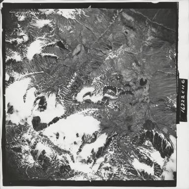 Talkeetna Mountains, aerial photograph M 826 250, Alaska