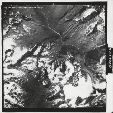 Mint Glacier, aerial photograph M 832 58, Alaska