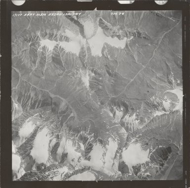 Talkeetna Mountains, aerial photograph M 836 191, Alaska
