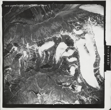 Yellowjacket Creek, aerial photograph M 836 30, Alaska