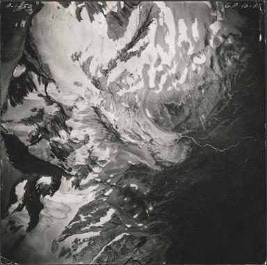 Jackson Glacier, aerial photograph GP 13-81, Montana