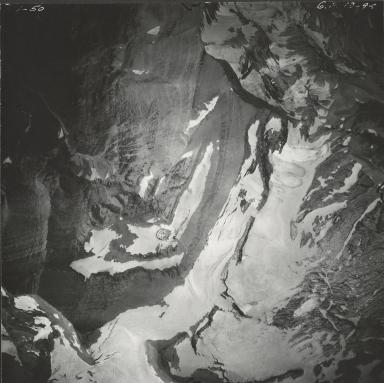 Blackfoot Glacier, aerial photograph GP 13-94, Montana