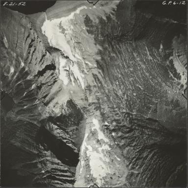 Mount Carter, aerial photograph GP 6-12, Montana