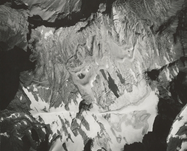 Sperry Glacier, aerial photograph GP 6-50, Montana