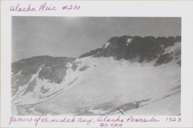 Unknown glacier, Kamishak Bay, Alaska