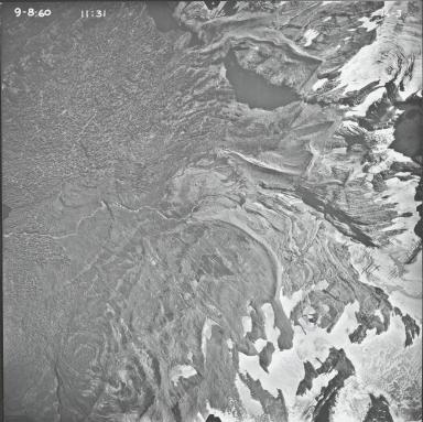 Jackson Glacier, aerial photograph 14-3, Montana