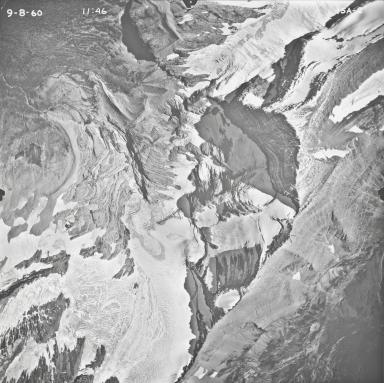 Jackson Glacier, aerial photograph 15A-2, Montana