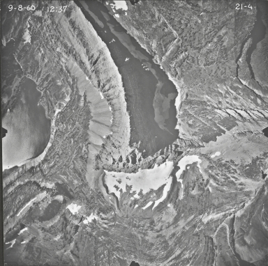 Clements Mountain, aerial photograph 21-4, Montana