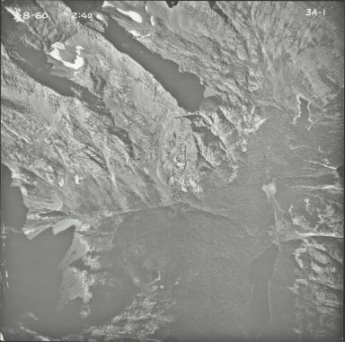 Vulture Glacier, aerial photograph 3A-1, Montana