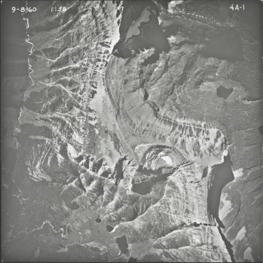 Porcupine Ridge, aerial photograph 4A-1, Montana