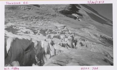 Blackfoot Glacier, Montana