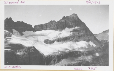 Shepard Glacier, Montana