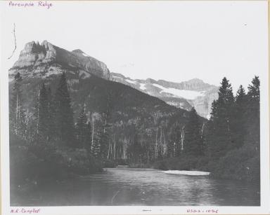 Porcupine Ridge, Glacier National Park, Montana