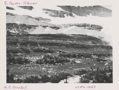Carter Glaciers, Montana