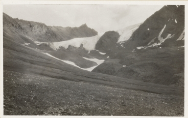 Unknown glacier, Chulitna River area, Alaska