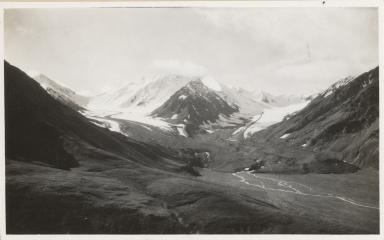 Unknown glacier, Tetlanika Creek, Alaska