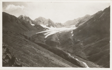 Unknown glacier, Tatlanika Creek, Alaska